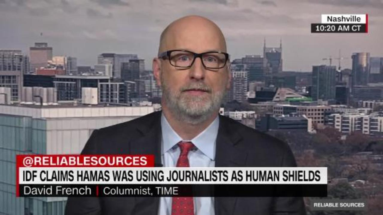 David French on Israel, Hamas and the laws of war