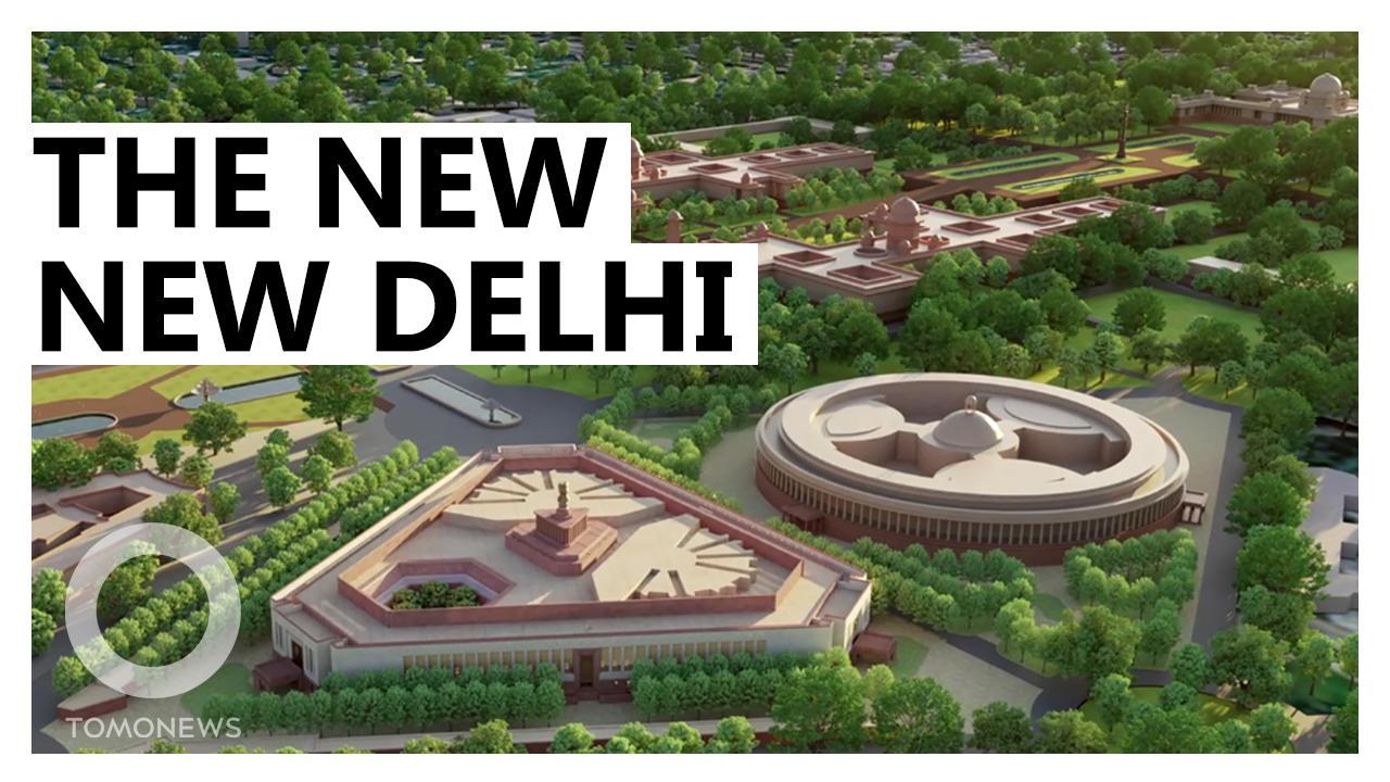 India's 'Vanity Project' Proceeds Despite COVID Crisis