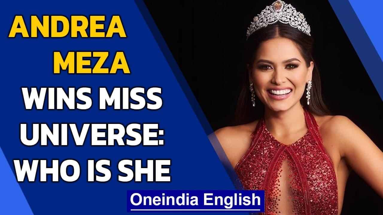 Miss Universe 2020: Miss Mexico Andrea Meza wins the coveted crown   Know all   Oneindia News