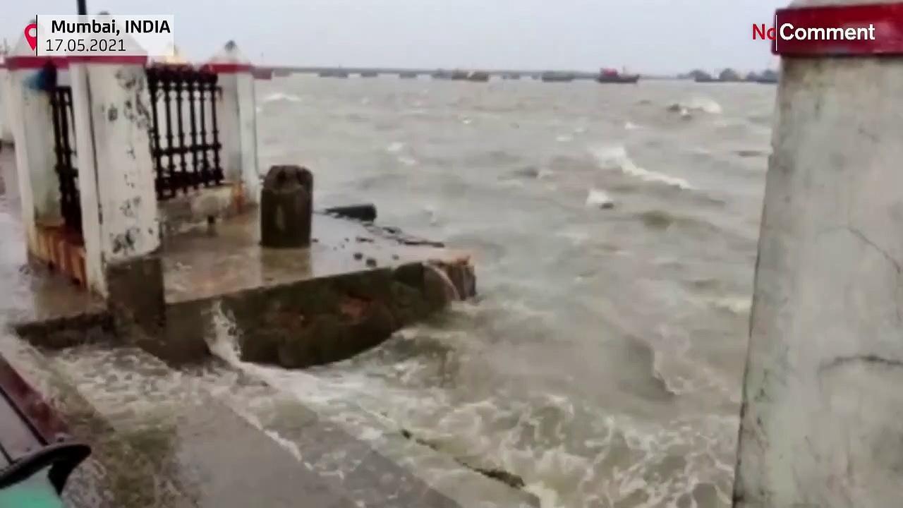 Cyclone Tauktae hits India western coats
