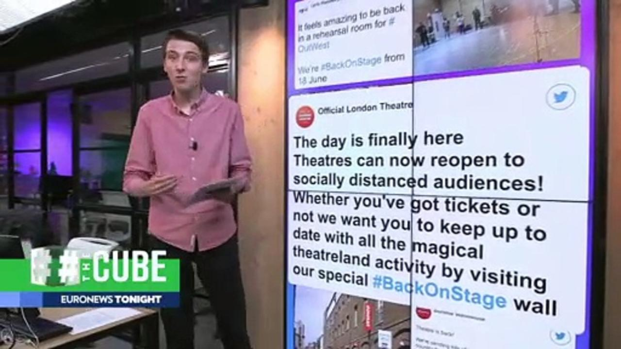 #BackOnStage: London theatres celebrate reopening with online campaign