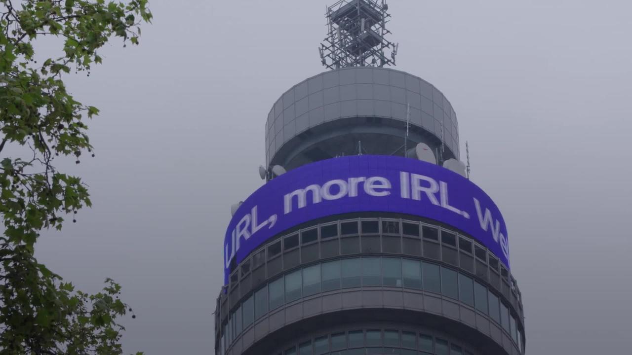 BT Tower in London welcomes easing of Coronavirus restrictions