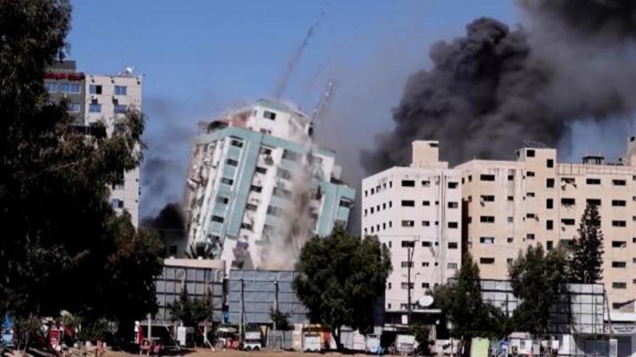 Reporter on tower blast: 'It was shocking'