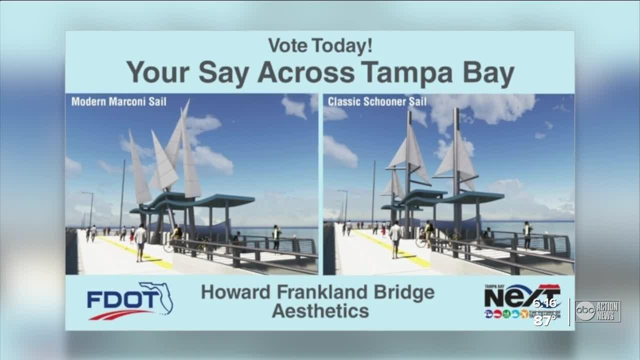 FDOT wants community input on Howard Frankland Bridge sail design