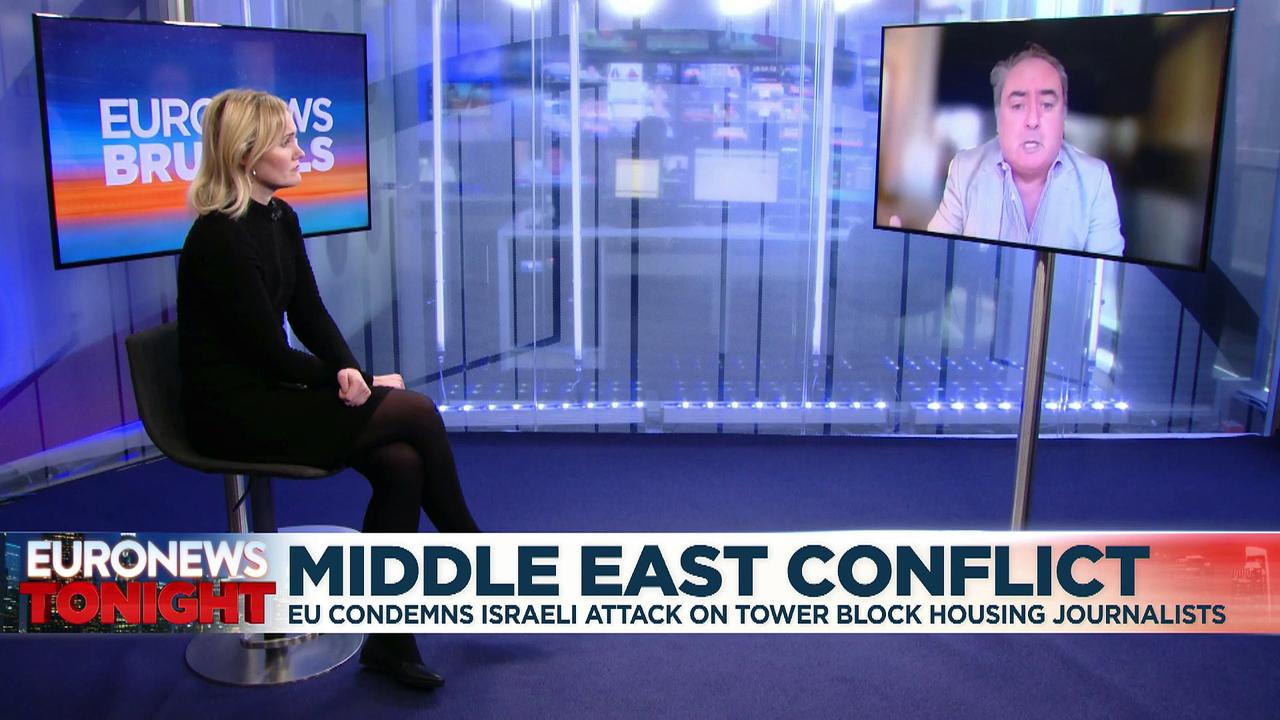EU foreign ministers meet on Gaza as Israel-Hamas conflict rages on