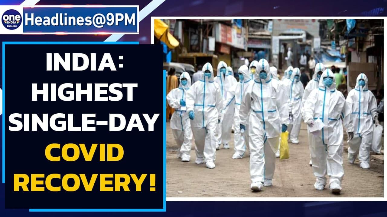 Covid recoveries more than daily active cases   Highest single-day death: 4,329   Oneindia News