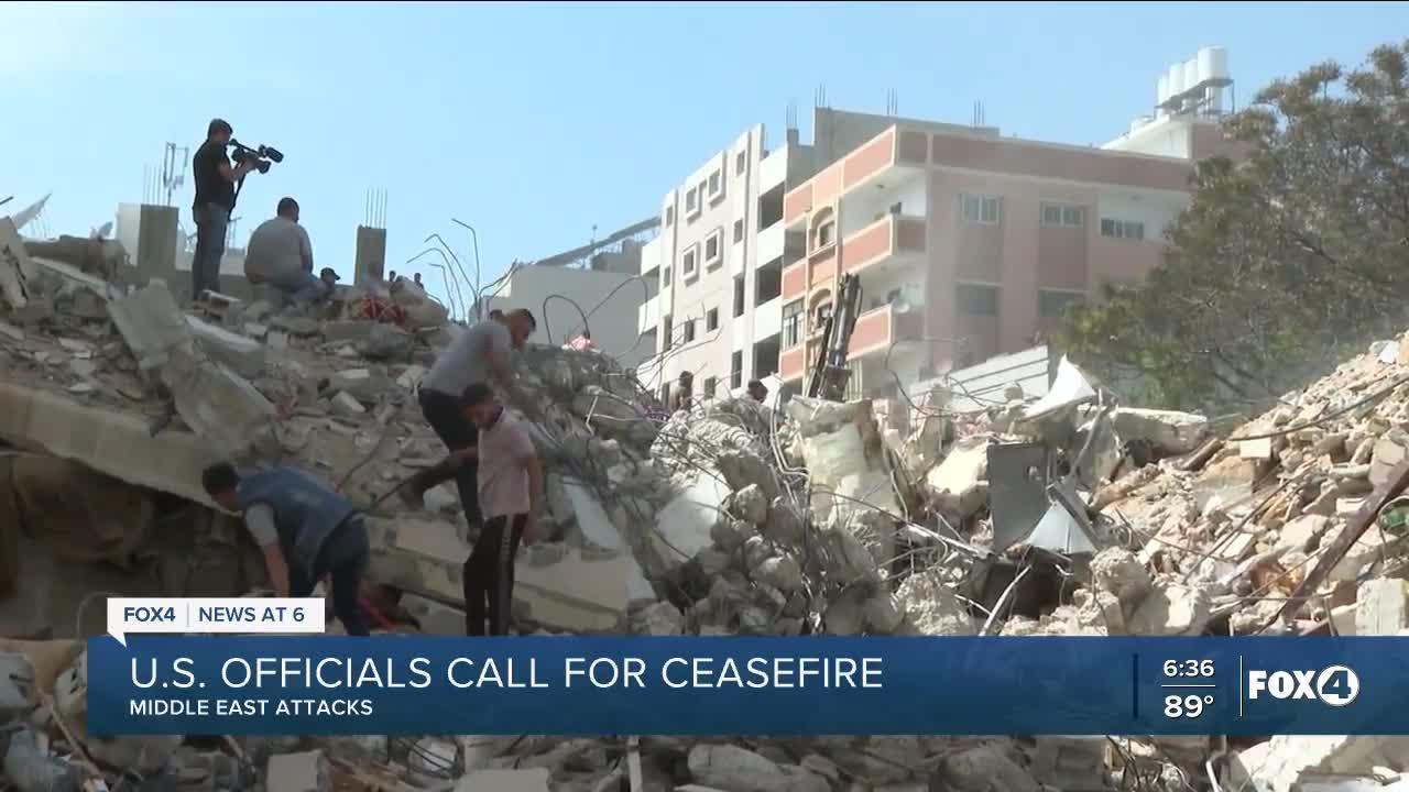 Israel strikes Gaza tunnels, Hamas leaders; Biden administration focused on 'reducing the violence'