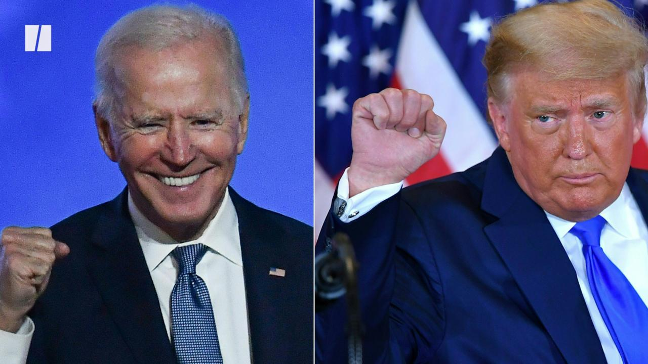 President Joe Biden Shades Donald Trump