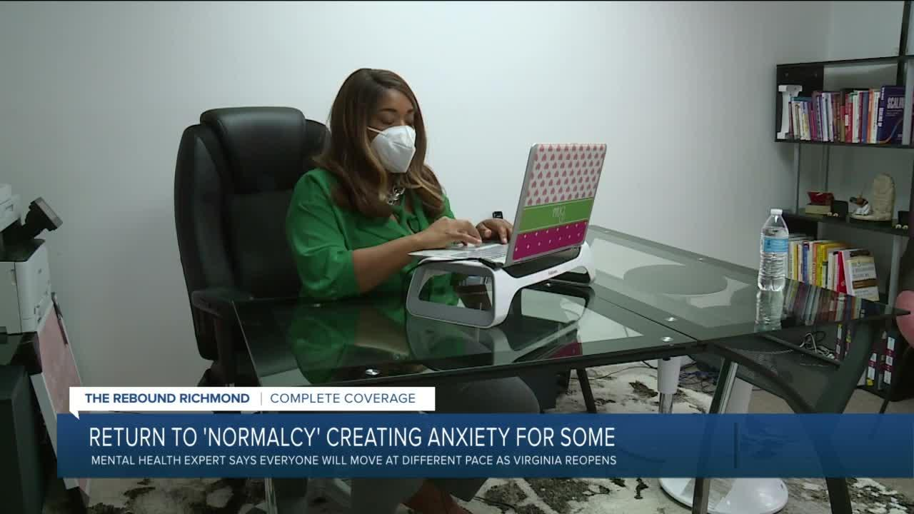 As masks come off, anxiety levels increase - for some
