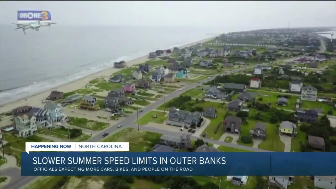 Speed limits lowered on sections of NC 12 in Outer Banks: 'Drive with caution'