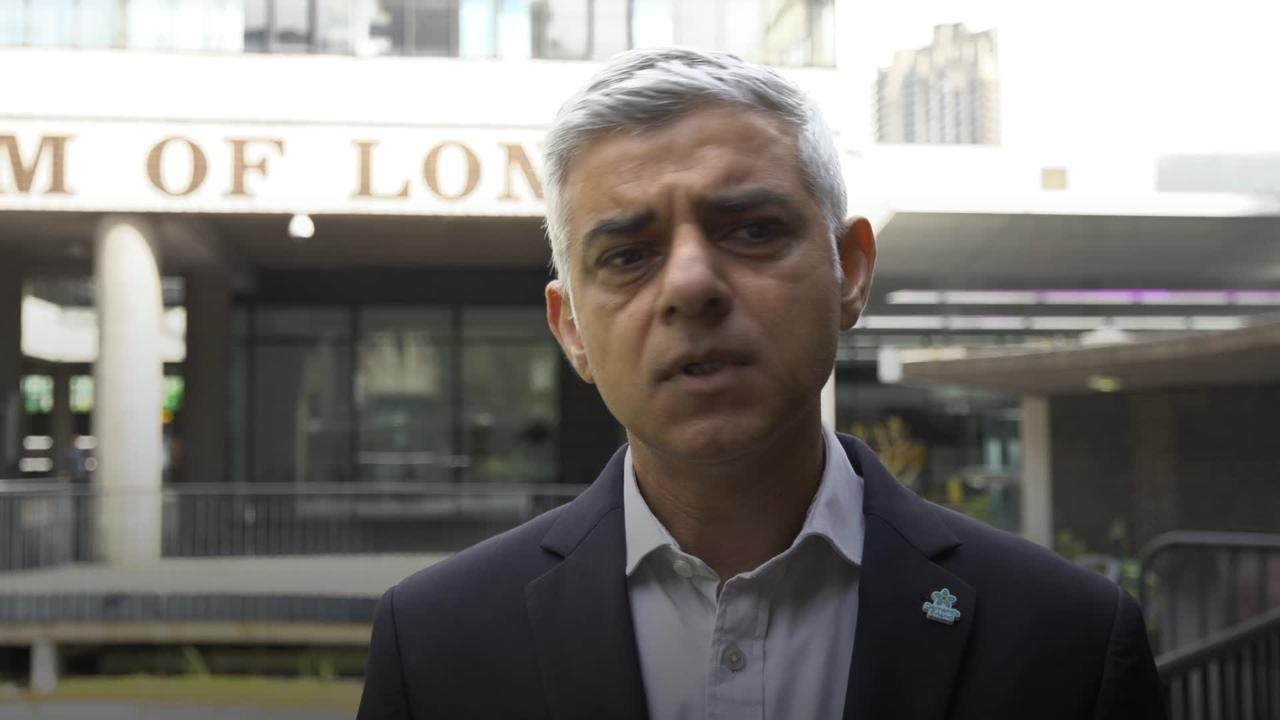The tier system failed - Sadiq Khan says he would not support localised lockdowns