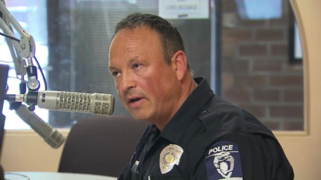 Police officer takes to the radio to change opinions