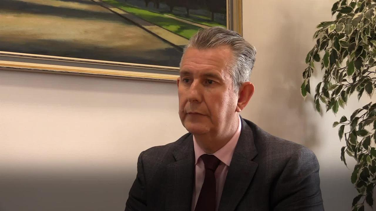 Stormont powersharing not at risk under my leadership, says Poots