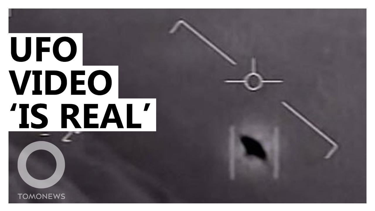 Pentagon Says UFO Video is Real, as UFO Hearing Looms