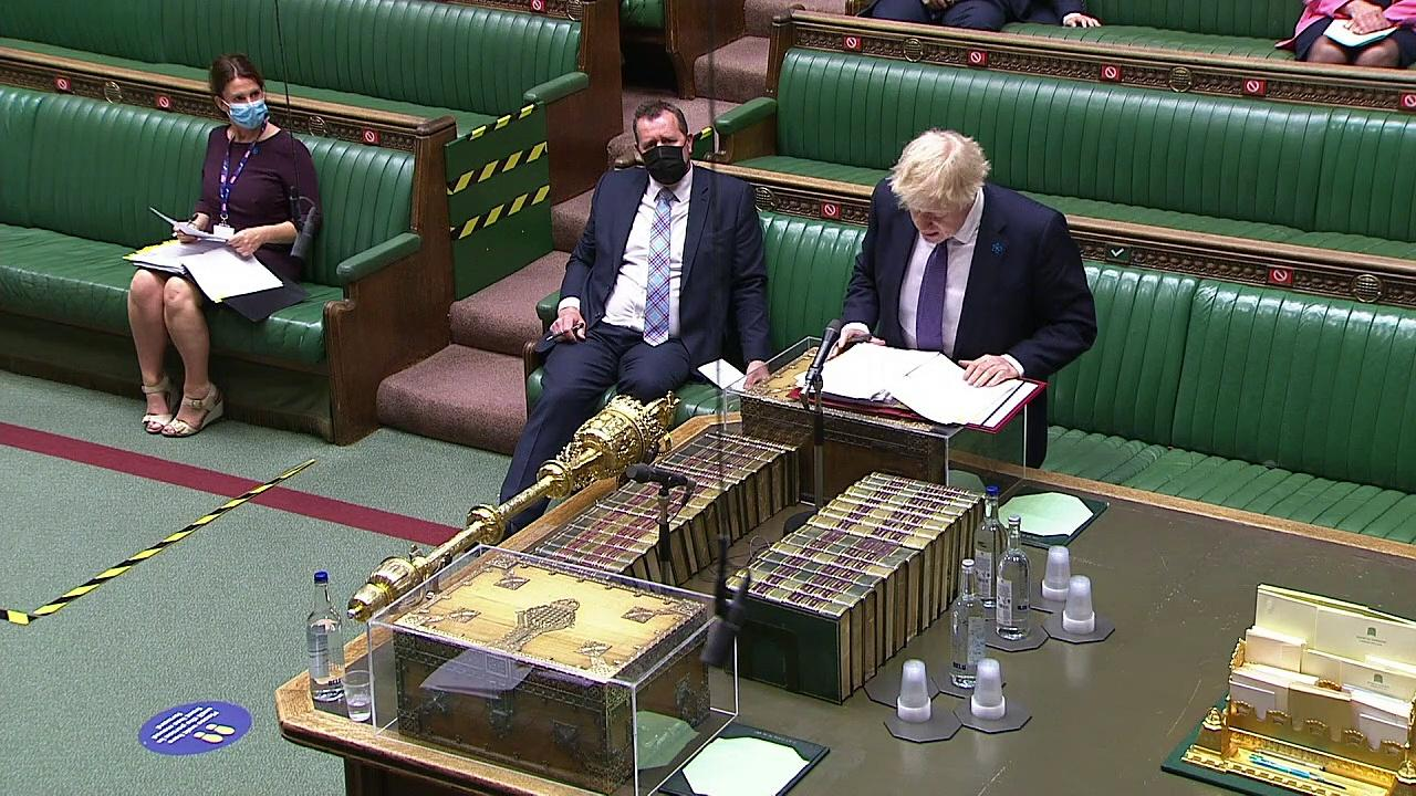 PM and Starmer clash over travel list during PMQs