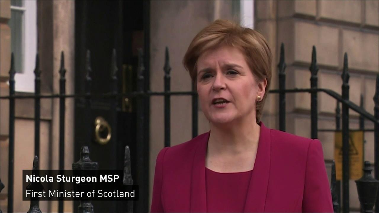 Nicola Sturgeon announces cabinet reshuffle