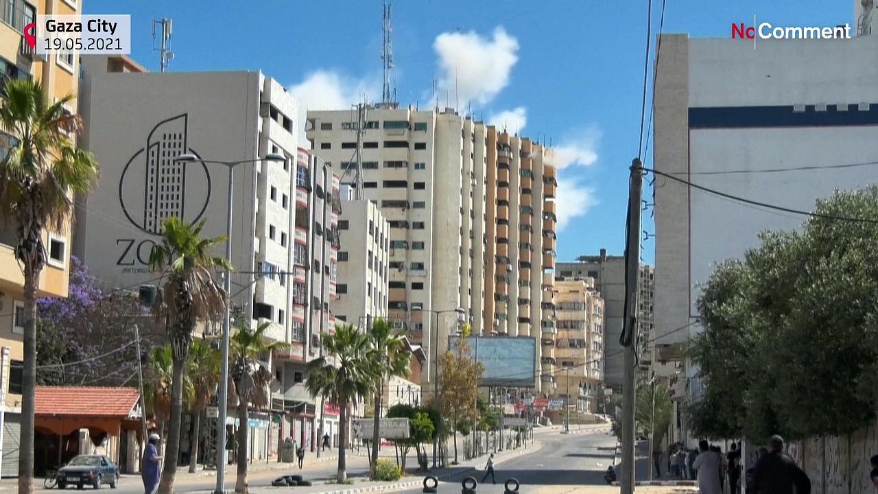 Israeli strike hits Gaza residential apartment