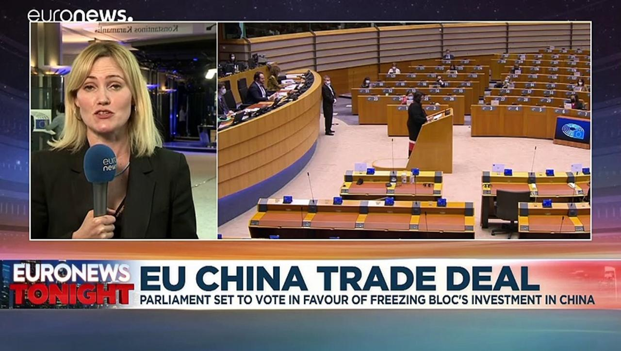 MEPs set to call for EU's investment deal with China to be frozen