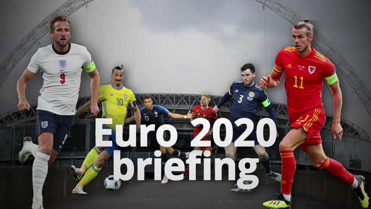 Countdown to Euro 2020: 23 days to go