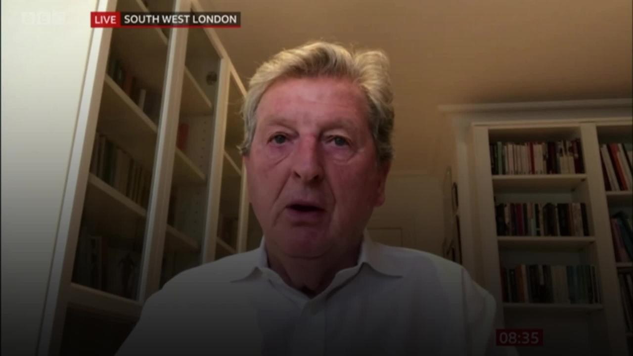 Roy Hodgson: Time is right to leave Crystal Palace