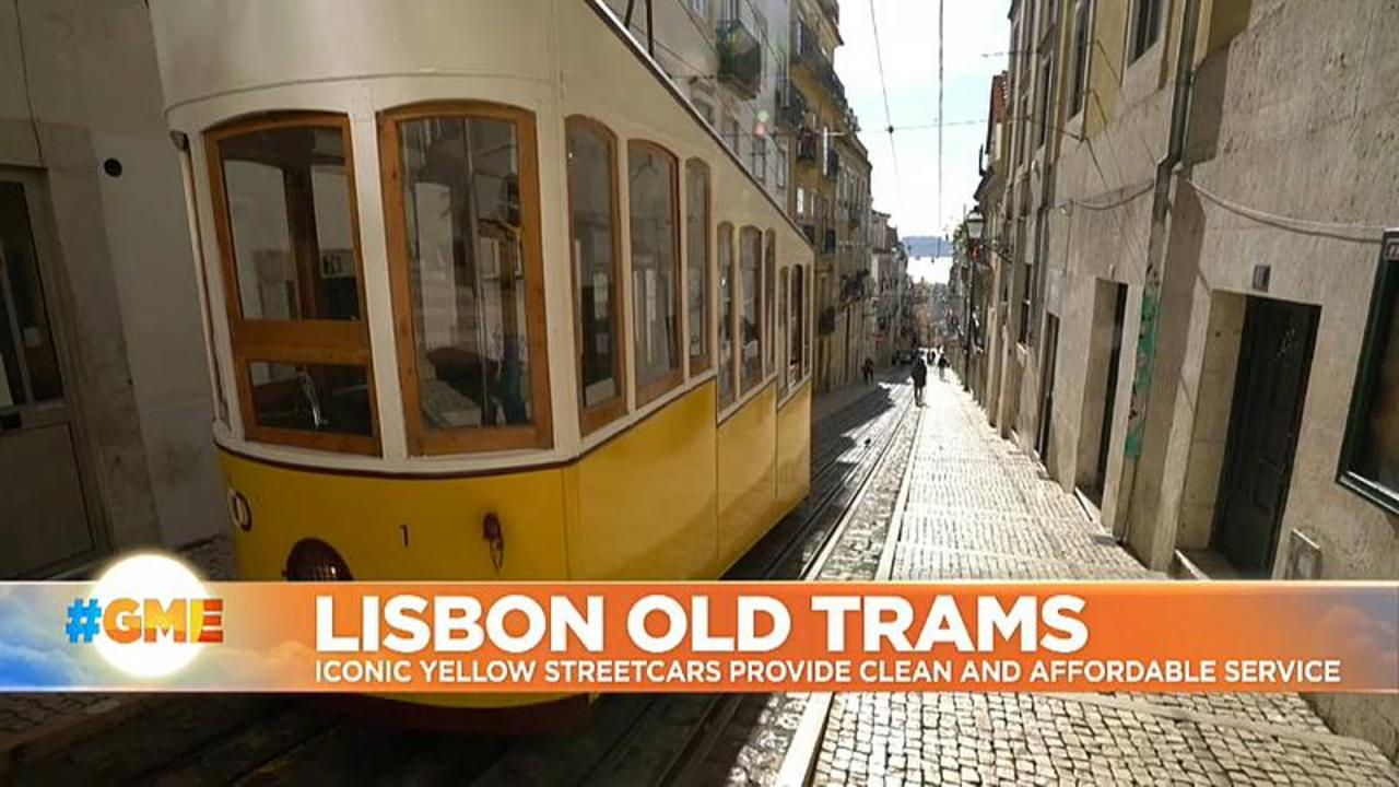 Lisbon's iconic old trams helping Portugal fight climate change