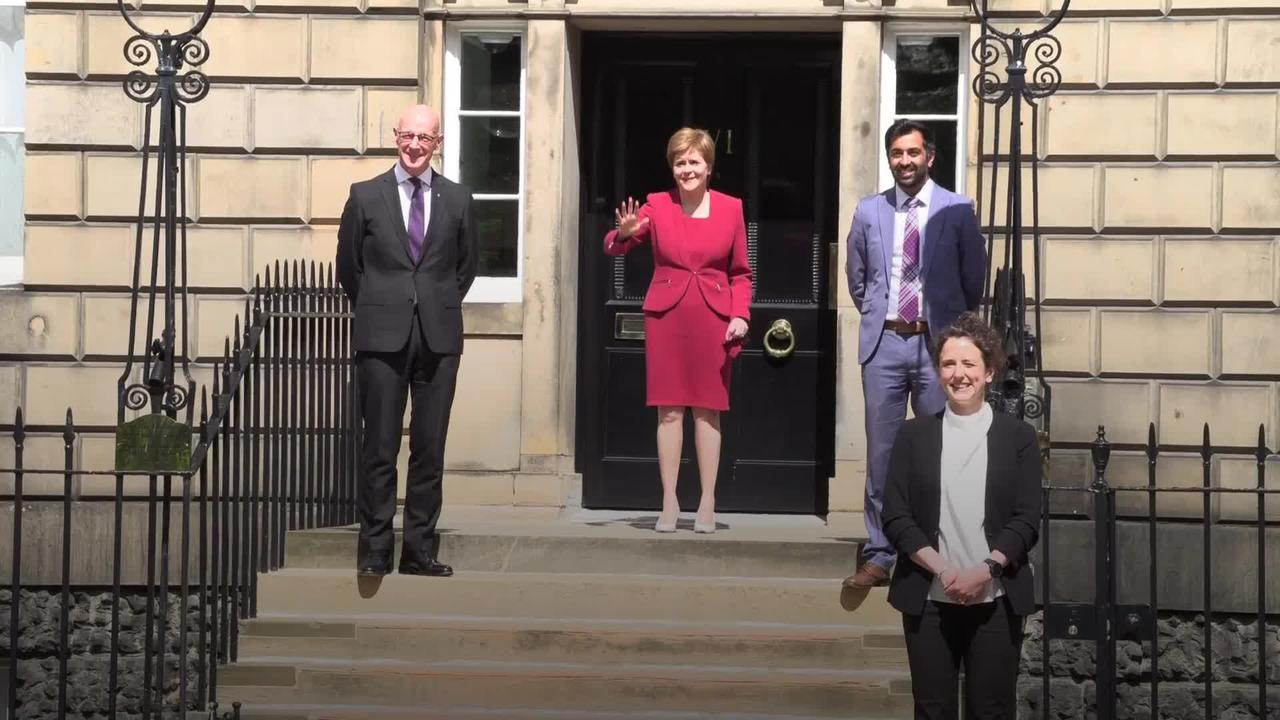 Nicola Sturgeon: New Cabinet gives Scotland 'serious Government'