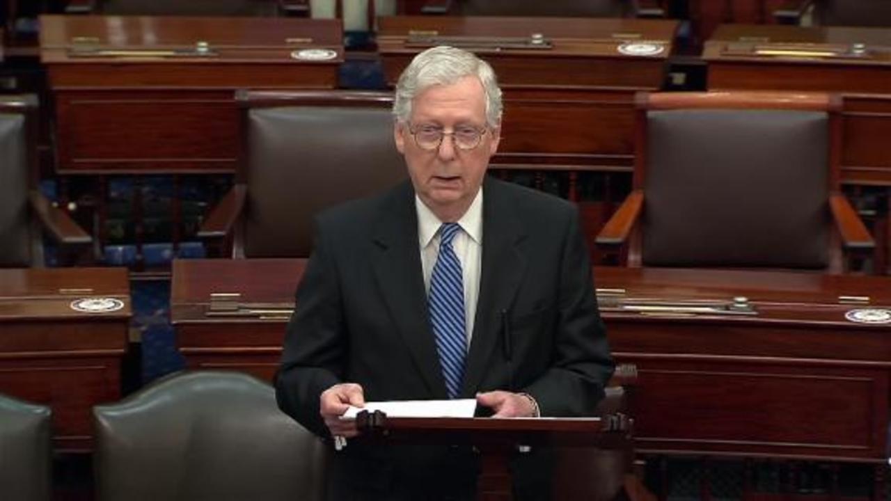 McConnell: I made my views about January 6 very clear