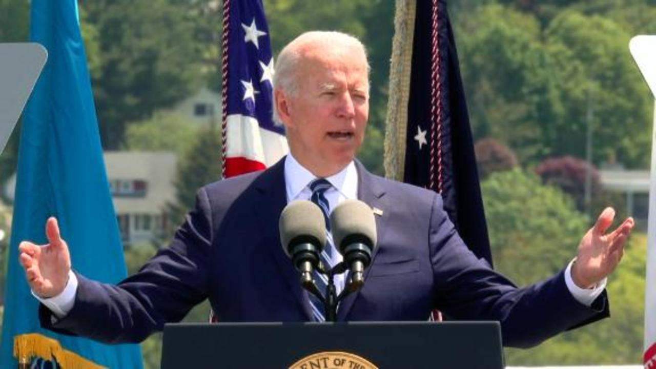 Joe Biden singles out Russia and China in commencement address