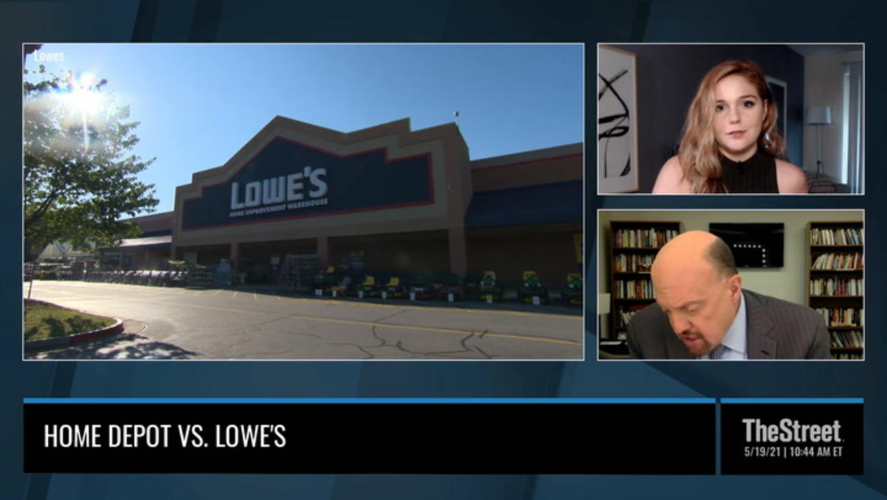 Lowe's Stock Is a Buy Right Here, Jim Cramer Says