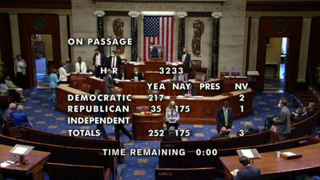 Watch the moment the House passes bill to create January 6 commission