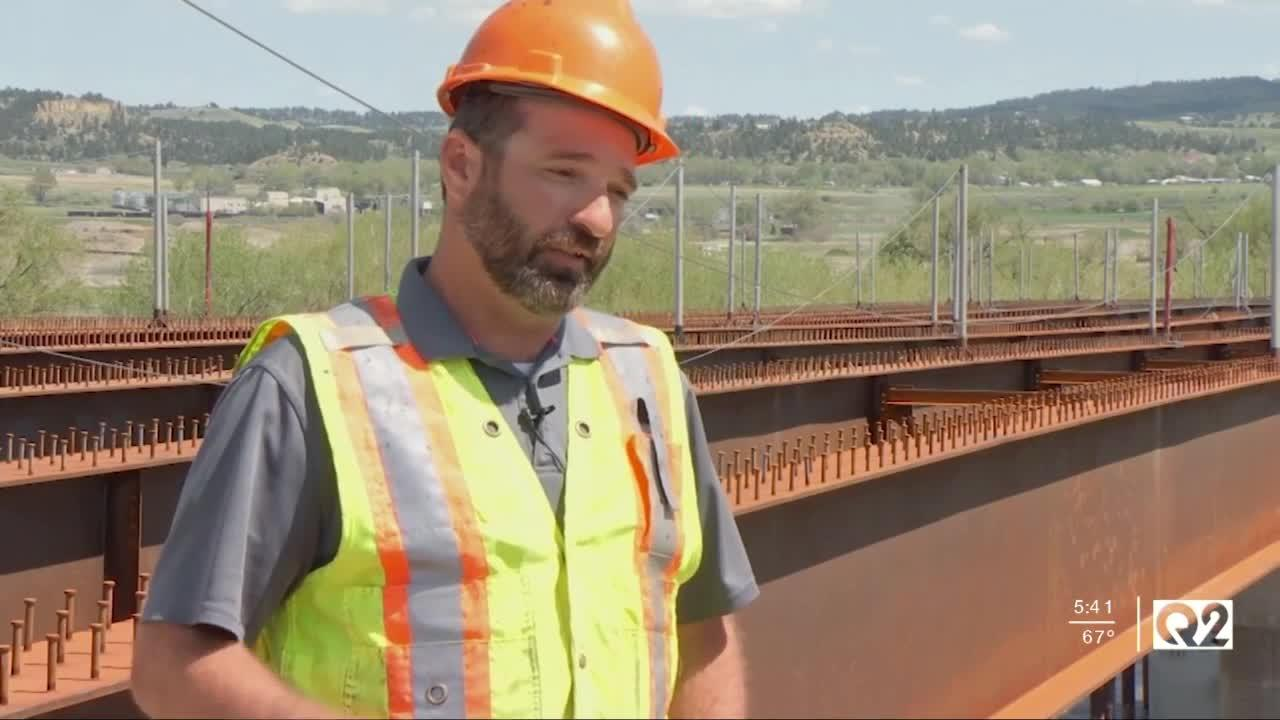 Bridge construction beginning for Billings Bypass project