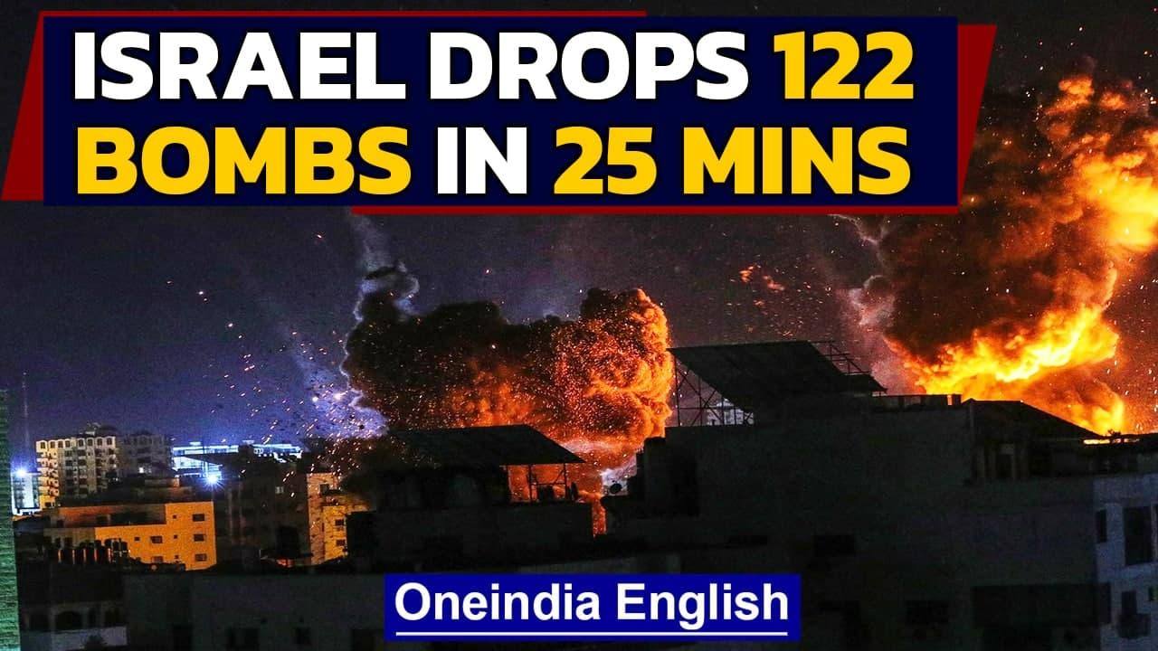 Israel-Gaza conflict: 219 Palestinians killed since May 10; 12 Israelis dead | Oneindia News