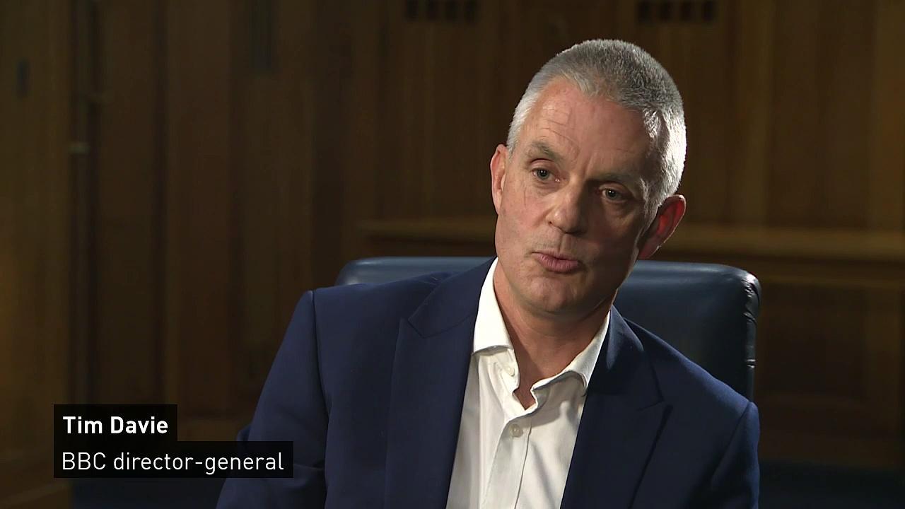 'It's a dark day for the BBC', says Tim Davie