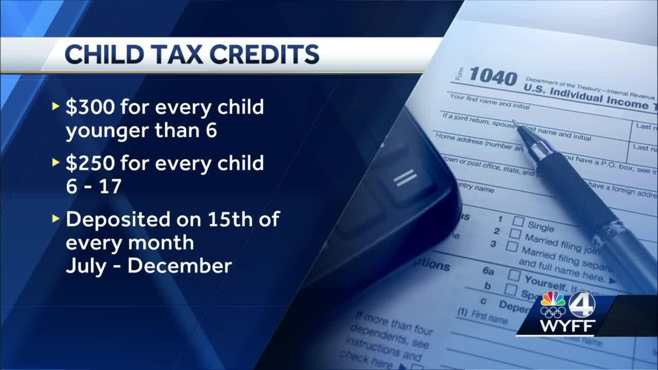 Who's getting a monthly child tax credit?