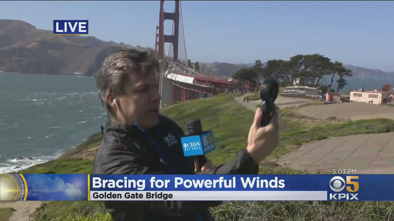 Powerful Winds Whipping Through the Bay Area