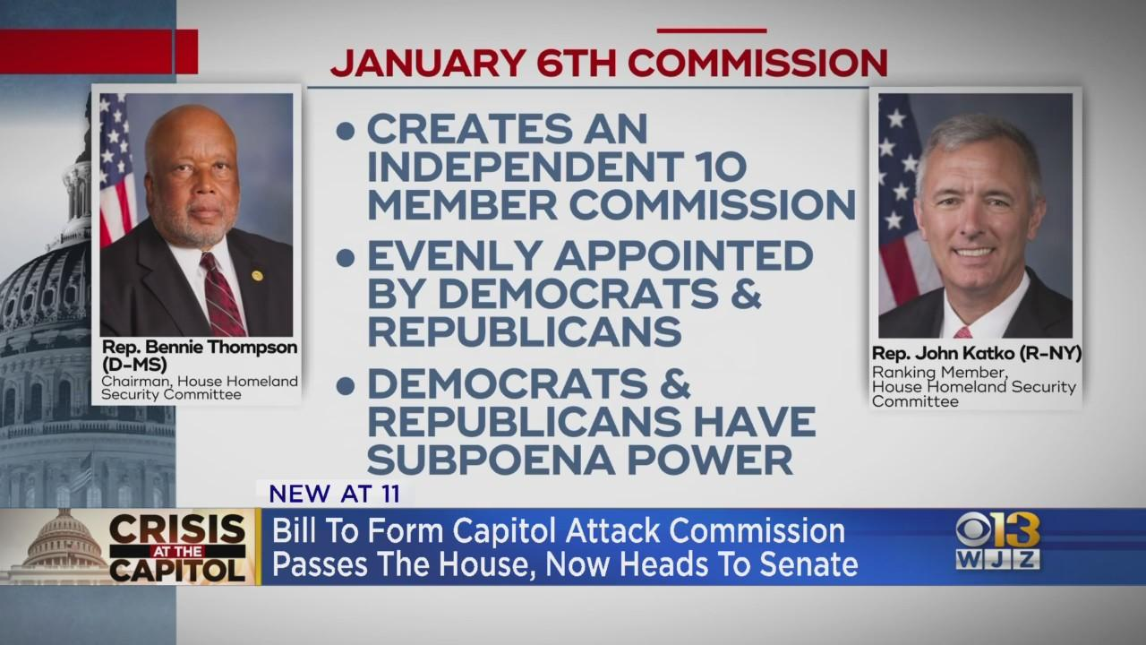 House Backs Commission On Jan. 6 Riot Over GOP Objections