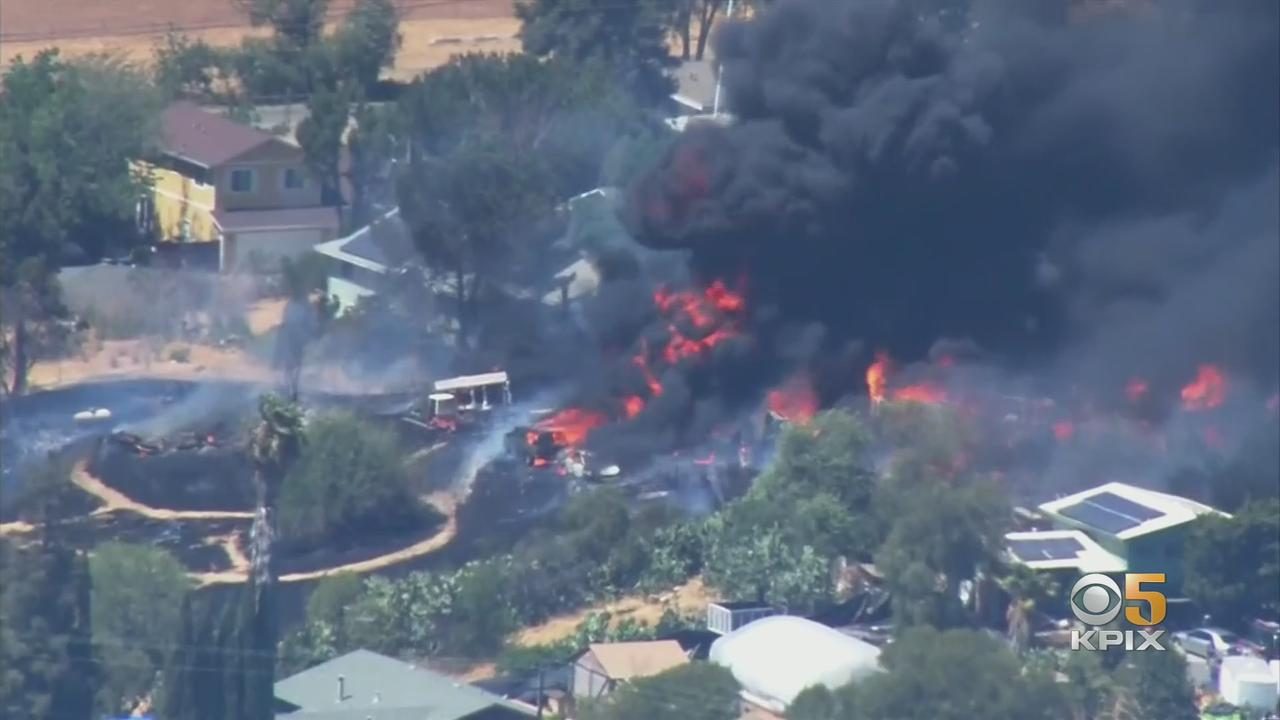 Juveniles Started Explosive Martinez Fire That Burned Home, Multiple Vehicles