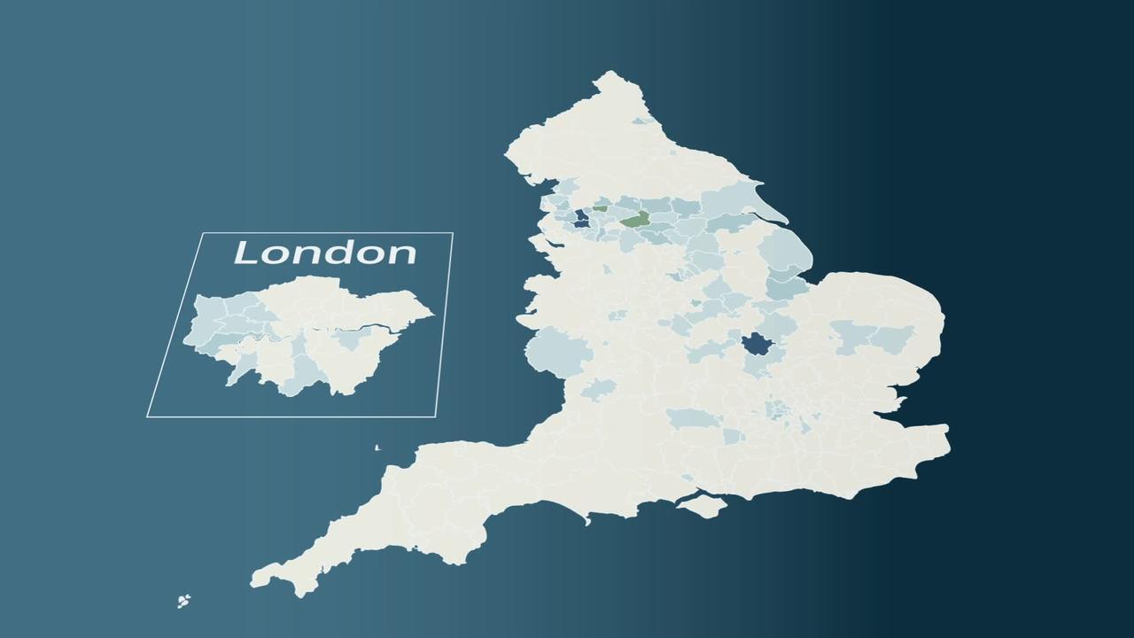 Covid-19 map: Bolton remains coronavirus hotspot