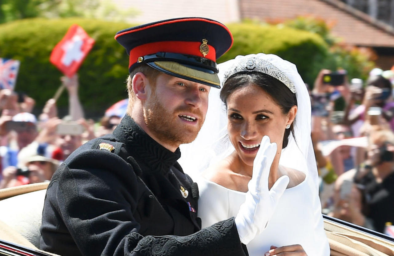 Prince Harry and Duchess Meghan celebrate wedding anniversary with charity project