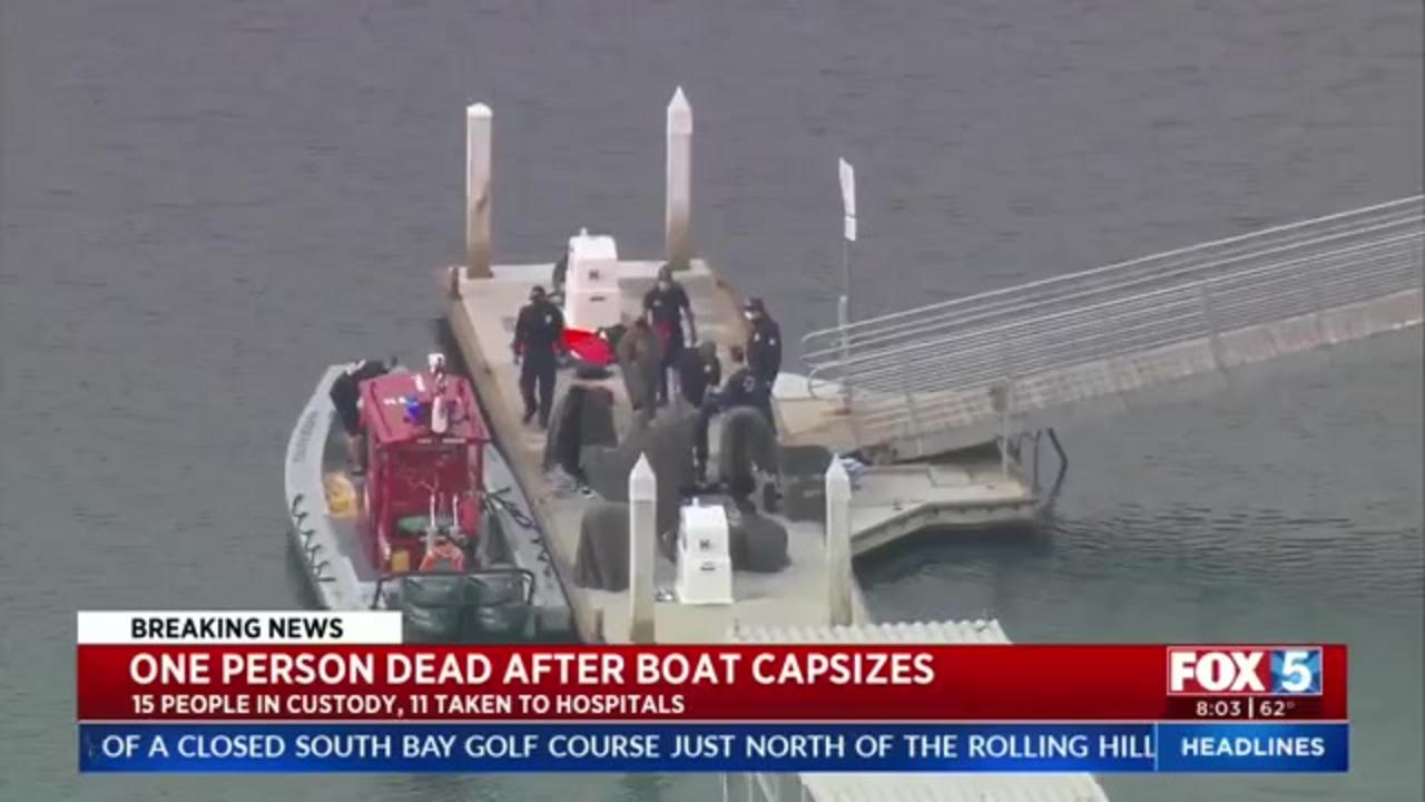 One person killed, several hospitalized in suspected smuggling boat incident near San Diego
