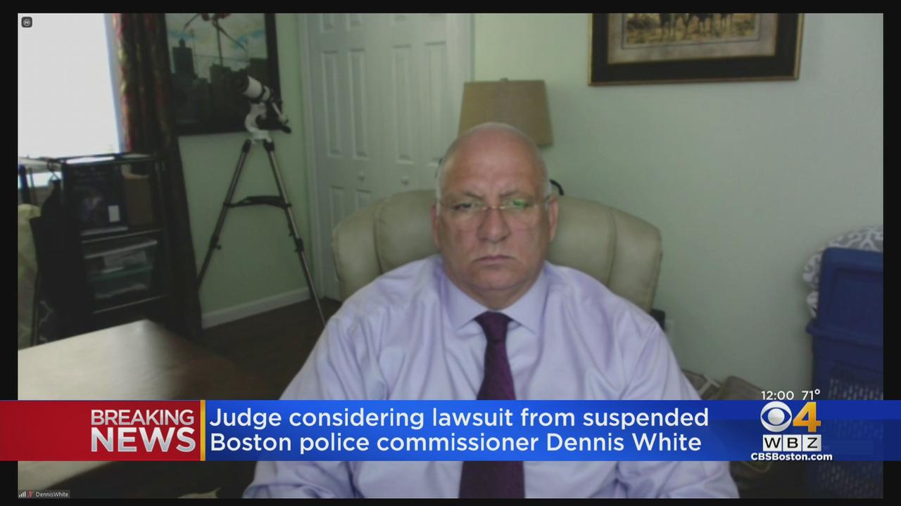 Judge Considering Dennis White Lawsuit To Stop Mayor Kim Janey From Firing Him As Boston Police Commissioner