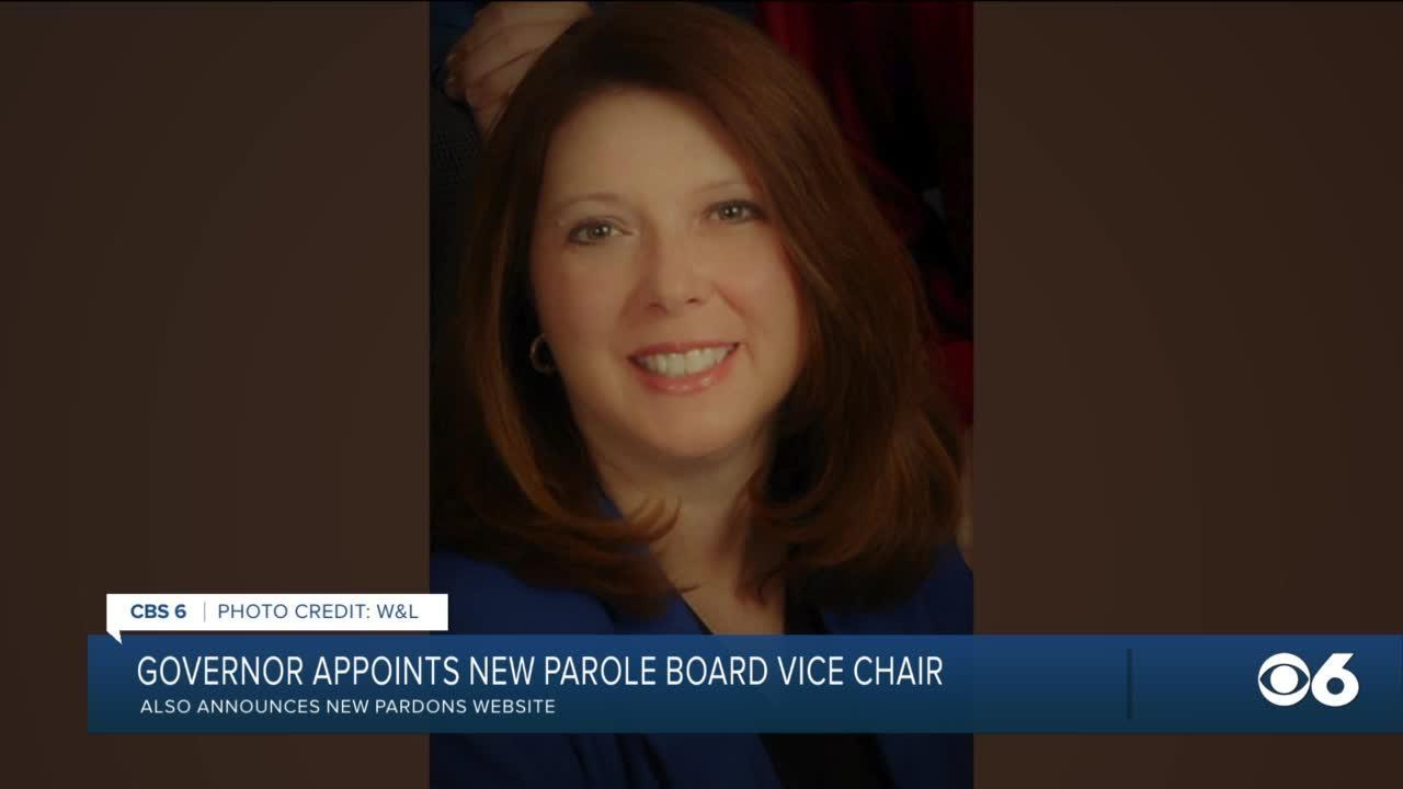 Gov. Northam appoints new parole board member