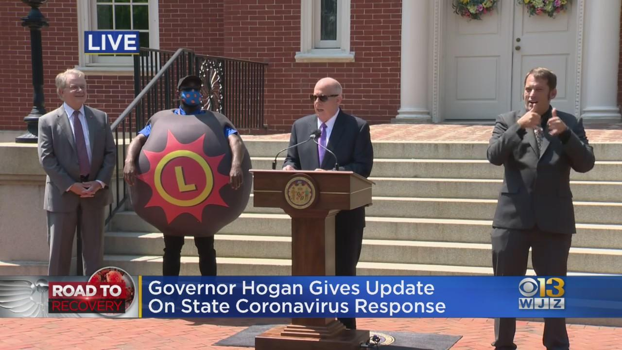 Gov. Larry Hogan Announces Maryland Is Giving Away $40K In 40 Days
