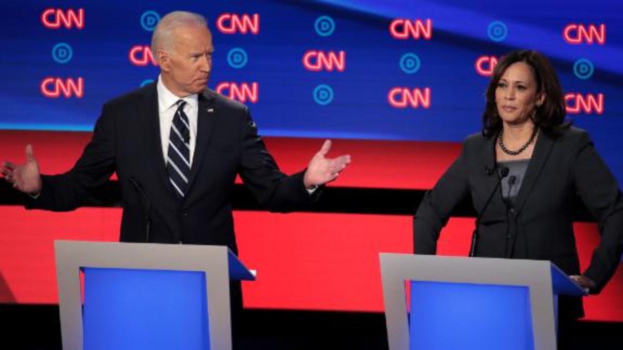 Book sheds light on heated debate moment between Biden and Harris