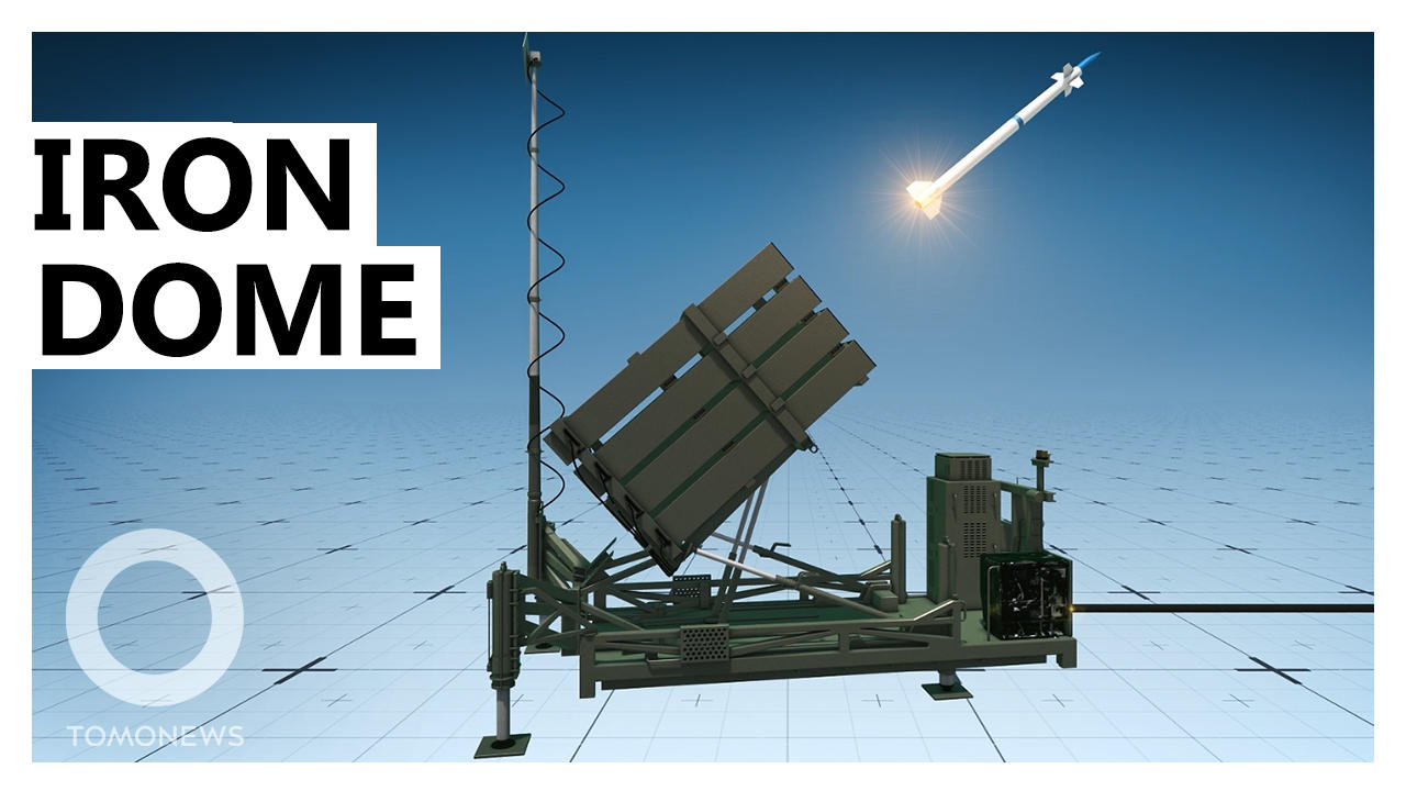 How Israel's Iron Dome Missile System Works