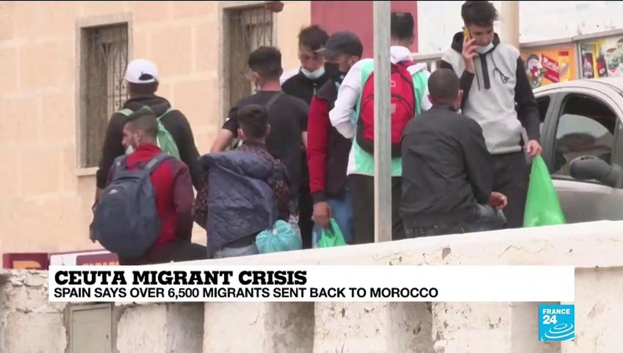 Spain says over 6,500 migrants sent back to Morocco