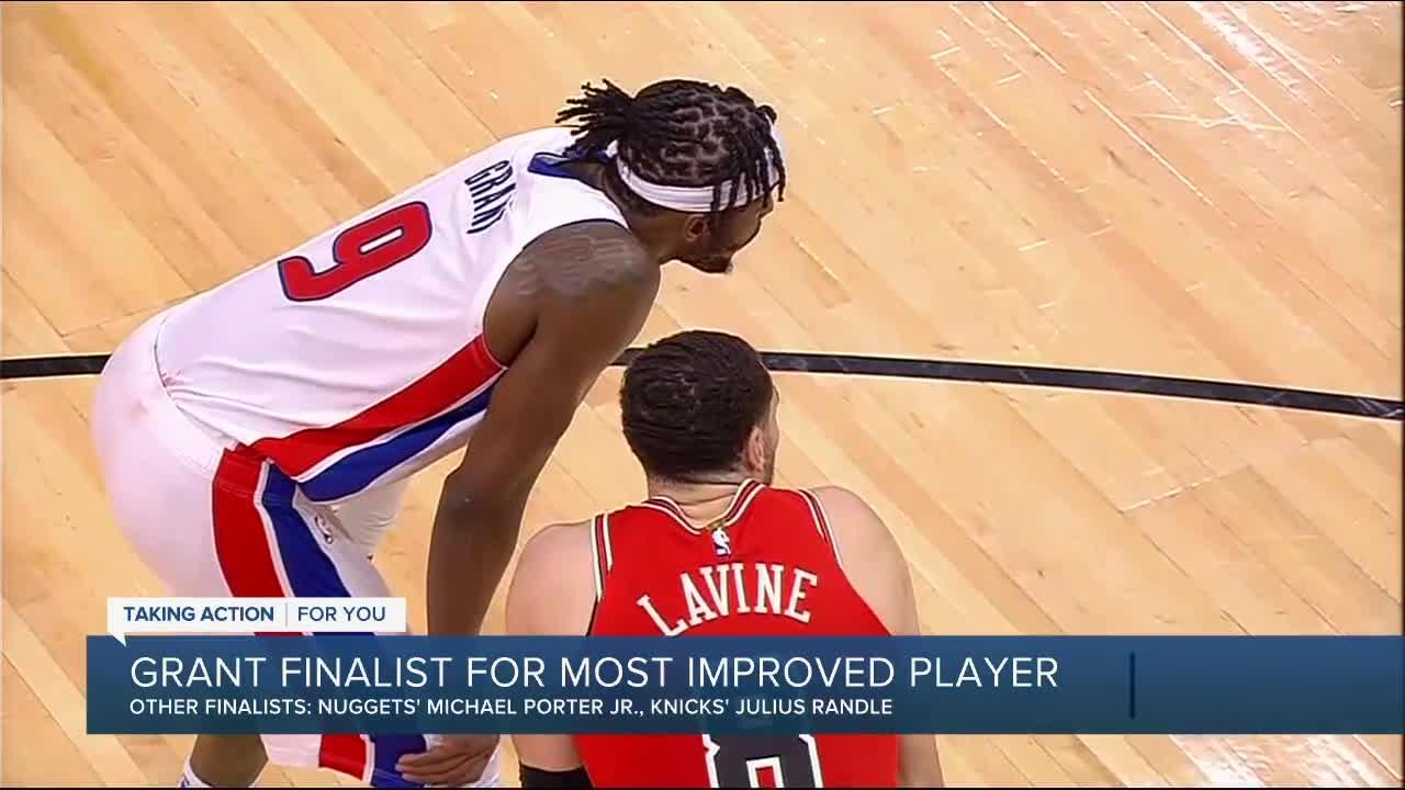 Grant named a finalist for NBA Most Improved Player