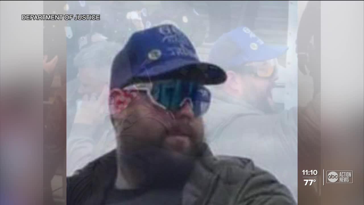 Feds arrest Bradenton man for allegedly assaulting law enforcement during 1/6 insurrection