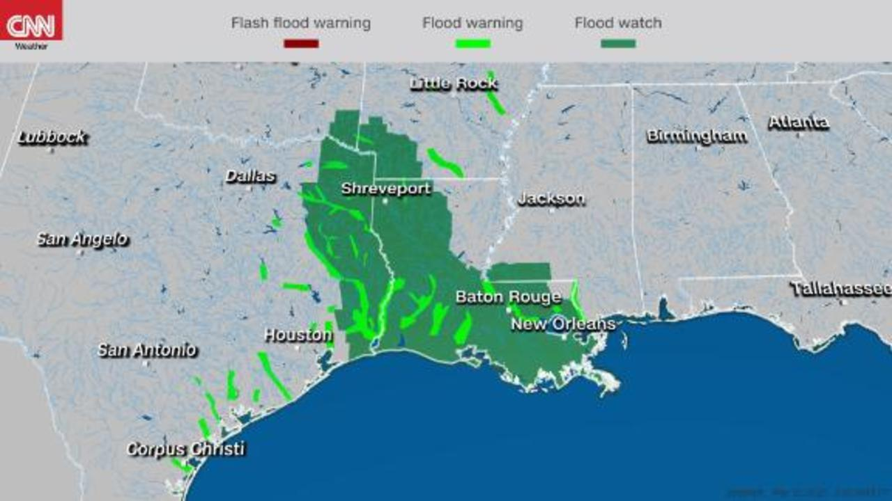 Tropical mischief for the Texas coast while hot temperatures return to the East