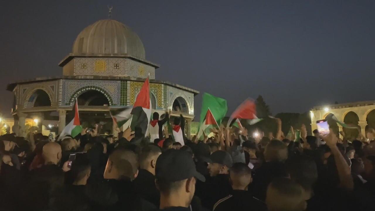 Biden applauds Gaza ceasefire agreement between Israel and Hamas